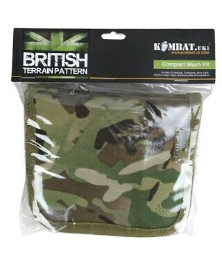 Armée Militaire Camouflage Lavage Sac Cadet Mtp Voyage Kit Camping Bushcraft GB