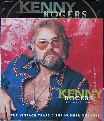Kenny Rogers Cd 1+2 Vintage Years Number One Hits From The Box Through The Years
