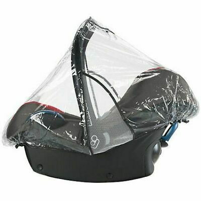 Brand New Maxi-Cosi Baby Car Seat Raincover, Transparent Ventilated, 0-12 Months