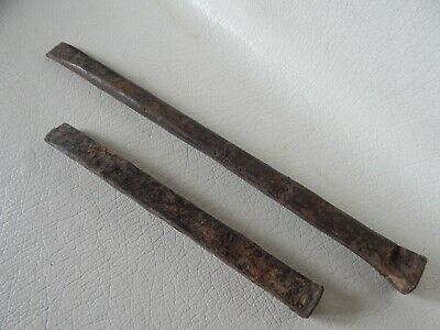Ancient Forged Iron Tools 2psc Viking Age