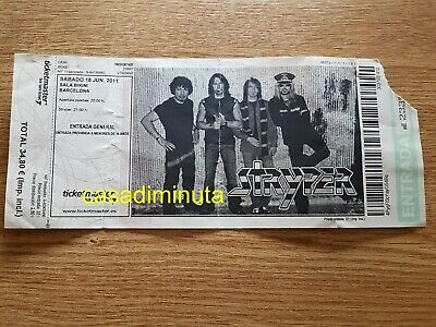 STRYPER entrada ticket Live in Barcelona 2011 BIKINI