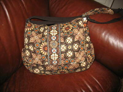 Vera Bradley Baby Diaper Changing Pad Messenger Bag Canyon Brown new without tag