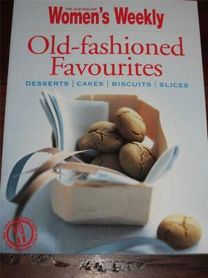 Aust Womens Weekly Cookbook  Old Fashioned Favourites Recipes