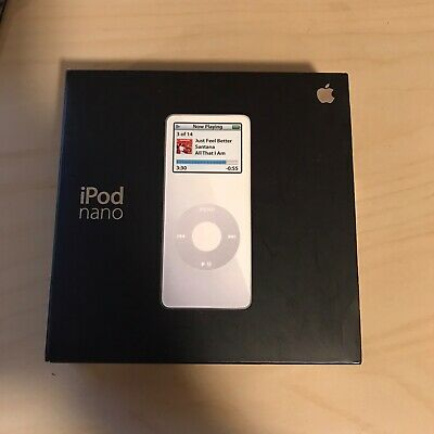 Apple iPod Nano 1st Generation Original Packaging ONLY - Collector's Special!