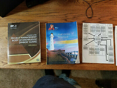 PMP - Project Management Professional Study Materials (Books and Notes)
