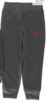 Nike Tricot Tracksuit Bottoms Joggers Pants Boys Kids Grey Age 2-3 *REF86