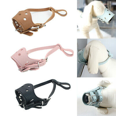 Pet Puppy Mouth Cover Mask Safety Anti Biting Barking Breathable Dog Muzzle Nett