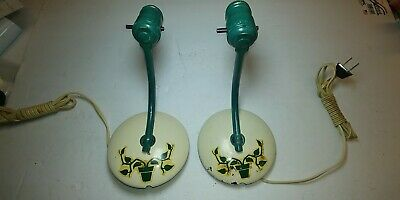 vintage metal sconce lighting fixtures,1950's or older
