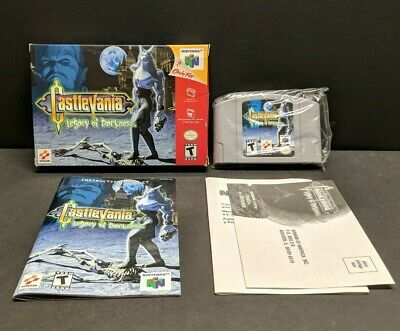 Castlevania: Legacy of Darkness (Nintendo 64, 1999) N64 Complete with Reg Card