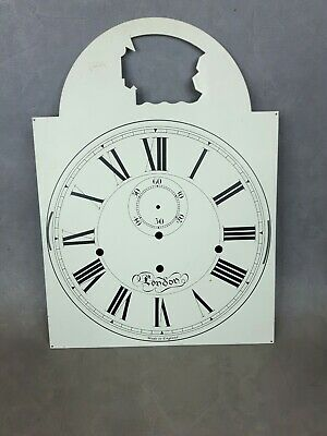 Brass Longcase Grandfather Clock Face Dial Type 9