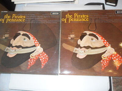 The Pirates Of Penzance - 2 Record LP Set - Decca SKL-4925/4926