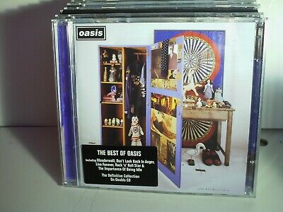 OASIS-STOP THE CLOCKS-THE BEST OF OASIS-cd-Mint-UK SELLER
