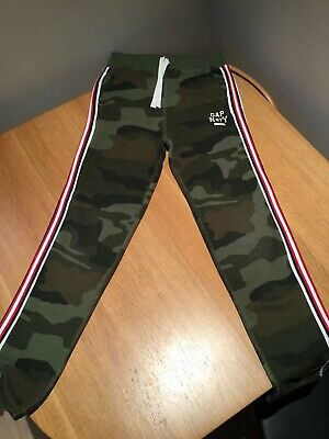 Lovely Boys Camo Straight Leg Joggers H&M Size 12 Years Ex Cond