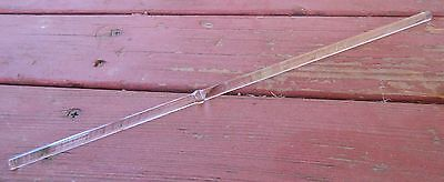 "12"" Long Glass Stirring Stick . Mixing . Stir Rod . 7mm diameter"
