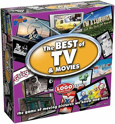 Drumond Park Logo Best of TV and Movies Board Game BEST SELLING GAME