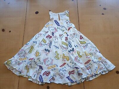 Stella McCartney Designer Girl's White Summer Dress Size 3 - 4 Years