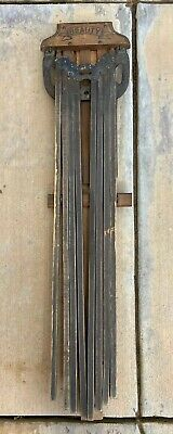 Antique Vintage Old Wood Wooden 8 Arm Clothes Hanging Drying Rack Dryer Beauty