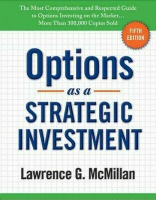 Options As a Strategic Investment, Hardcover by McMillan, Lawrence G., Like N...