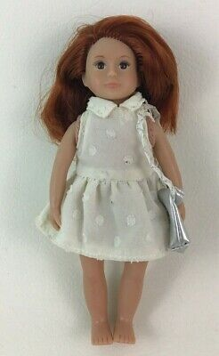 "Our Generation LORI Mabel Read Head 6"" Doll with Dress and Purse Battat Toys"