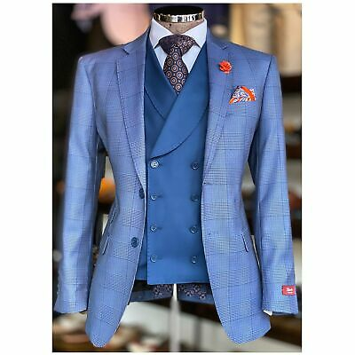 Lorenzini Vested Tailored Suit