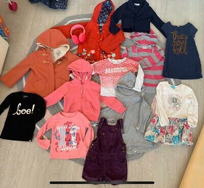 Large Bundle 2-3 Years Girl Clothes
