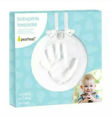 Pearhead babyprints hand / foot keepsake ornament kit