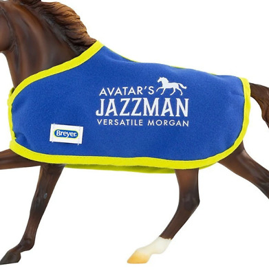 Breyer Jazzman  blanket only new and custom halter and lead