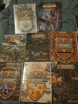 AD&D Advanced Dungeons & Dragons Birthright Book Lot