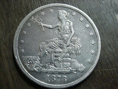 1878-S Us Silver Seated Trade Dollar Xf Ef Details Authentic Coin Free Ship Usa