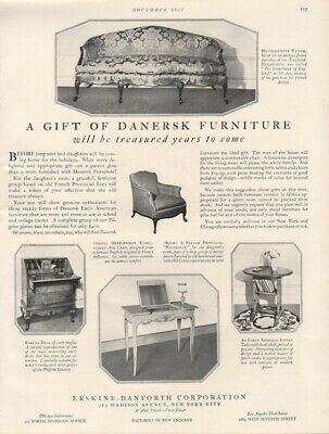 1927 Erskine Danersk Furniture Chair Table Desk Couch Furniture Home 19062