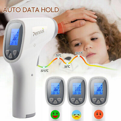IR Non Contact Digital Infrared Temporal Forehead Gun Kid Adult Body Thermometer