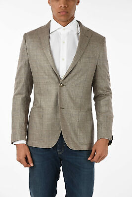 CORNELIANI men Suit Beige Single Breasted Unlined Blazer Size 50 IT GATE  50 ...
