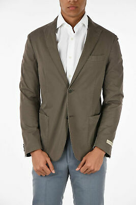 BEYMEN men Suit Jackets Beige Unlined Single Breasted Blazer Sz 50 IT Slim Fi...