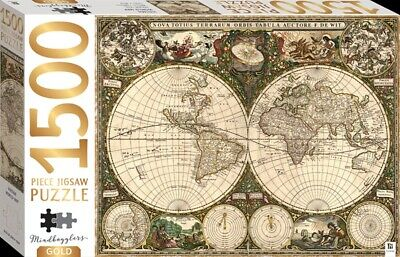 Mindbogglers Gold 1500 Piece Jigsaw Puzzle By Hinkler