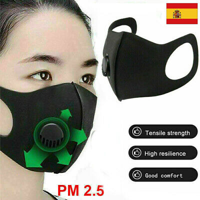 PM2.5 Máscara Máscaras Allergies Mascarilla Reusable Limpiable Mascarillas Nuevo