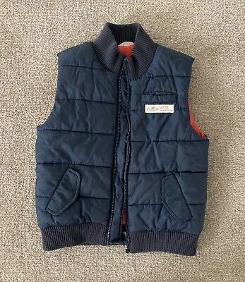 Boys Country Road Puffa Vest Jacket Size 7