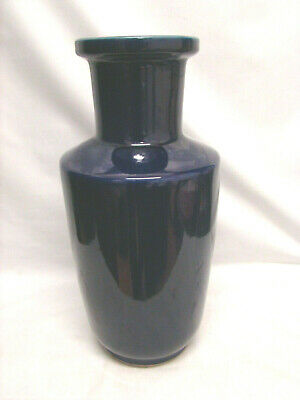 Large and Old Chinese Vase in Ceramic Blue - Chinese Oriental