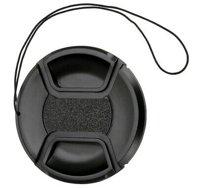 58mm Universal Centre Pinch Lens Cap With Keeper String - UK Stock