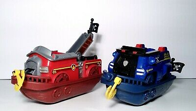 Paw Patrol Pups Pirate Ship Boat Vehicles Chase /& Marshall SPIN Master