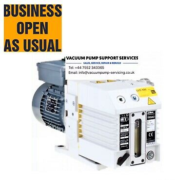 Leybold D8b Vacuum Pump-SERVICED-WARRANTY-£785.00 Inc VAT- Edwards Alcatel Lab