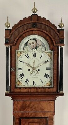 Moonphase Longcase Grandfather Clock By Bullock Of Braford On Avon