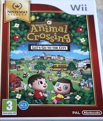Nintendo Wii Spiel Animal Crossing Lets Go to the City  TOPP !!! NINTENDO SELECT