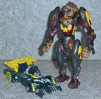Transformers Beast Machines MIRAGE and SNARL Parts Lot