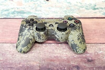 Sony PlayStation 3 PS3 CECHZC2U Camo Wireless Video Game Controller Dualshock 3