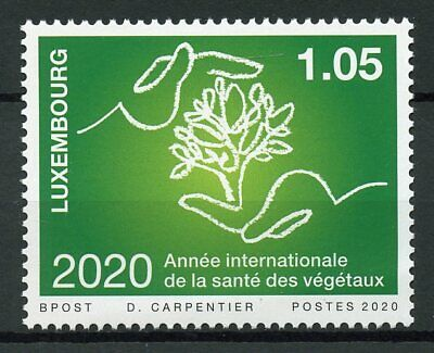Luxembourg Nature Stamps 2020 MNH Intl Yr of Plant Health Plants Trees 1v Set