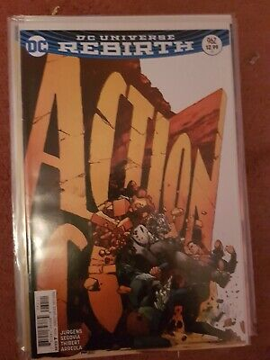 Action Comics 962  Clay Mann Cover   Doomsday, Lex Luthor   VF/NM   DC