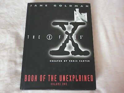 THE X FILES BOOK OF THE UNEXPLAINED Jane Goldman  paranormal aliens