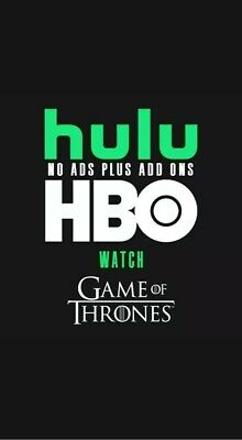 🔥Hulu Premium + No Ads + HBO | 1 Year Warranty | Fastest Delivery