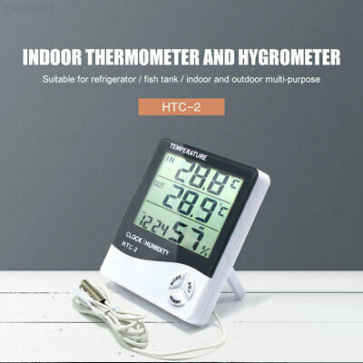 A56F Black White Digital Thermometer Household Gadget Professional