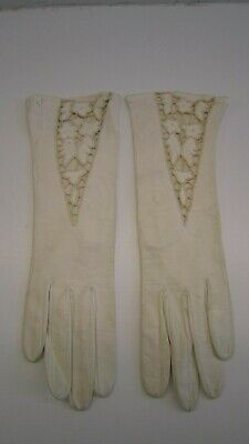 Vintage Dior Leather Gloves